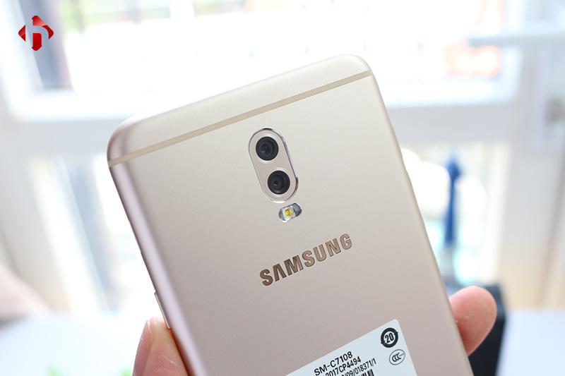 Samsung Galaxy C8 sở hữu camera kép tương tự J7 Plus