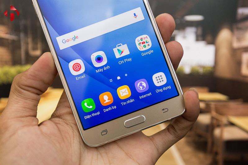 Galaxy J7 2016 chính hãng không hỗ trợ cảm biến vân tay