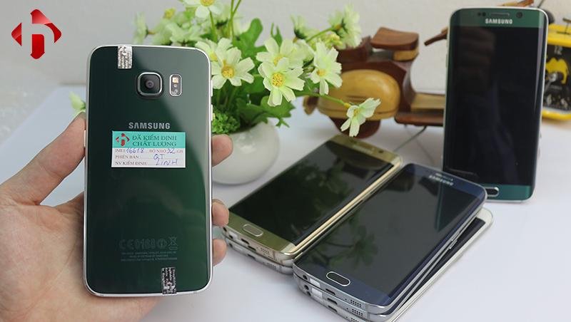 Galaxy S6 Edge Màu xanh ngọc