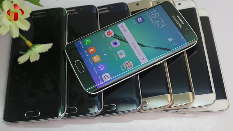 Thiết kế độc đáo của Galaxy S6 Edge