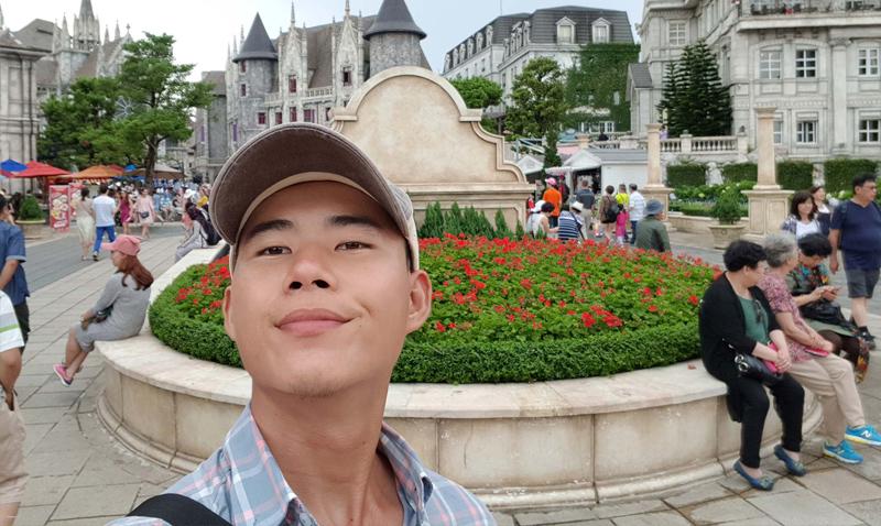 Ảnh chụp Selfie  trên Galaxy S8