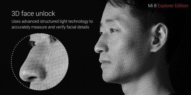 Cảm biến khuôn mặt tương tự Face ID