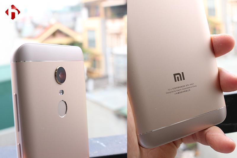 Thiết kế mặt sau của Xiaomi Redmi 5 Plus