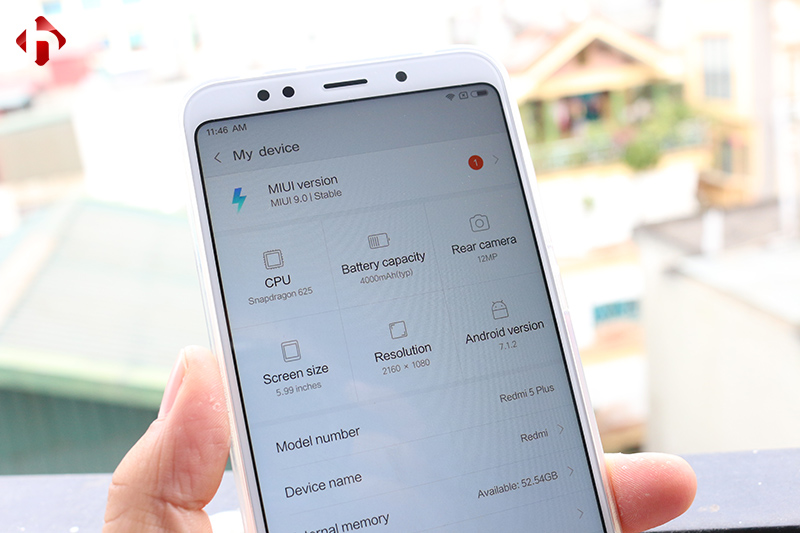 Xiaomi Redmi 5 Plus giá rẻ