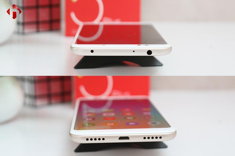 Cạnh trên và dưới Xiaomi Redmi 5 Plus