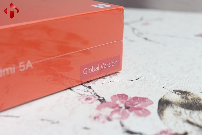 Redmi 5A chính hãng có chữ Global Version
