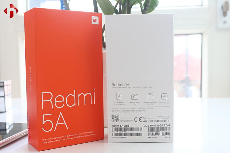 Điện thoại Xiaomi Redmi 5A chính hãng