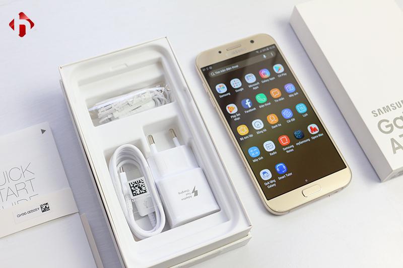 Phụ kiện đi kèm Galaxy A7 2017 chính hãng