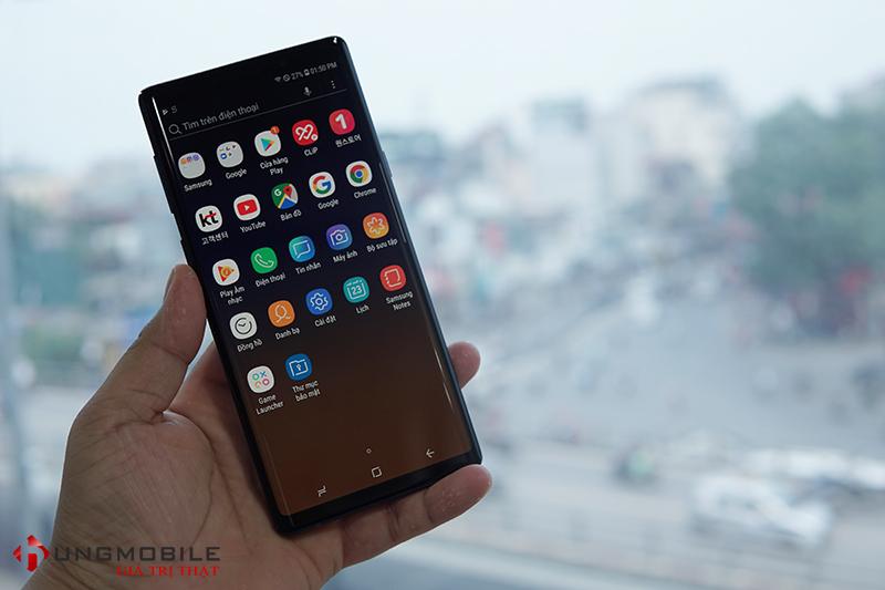Mặt trước Samsung Galaxy Note 9