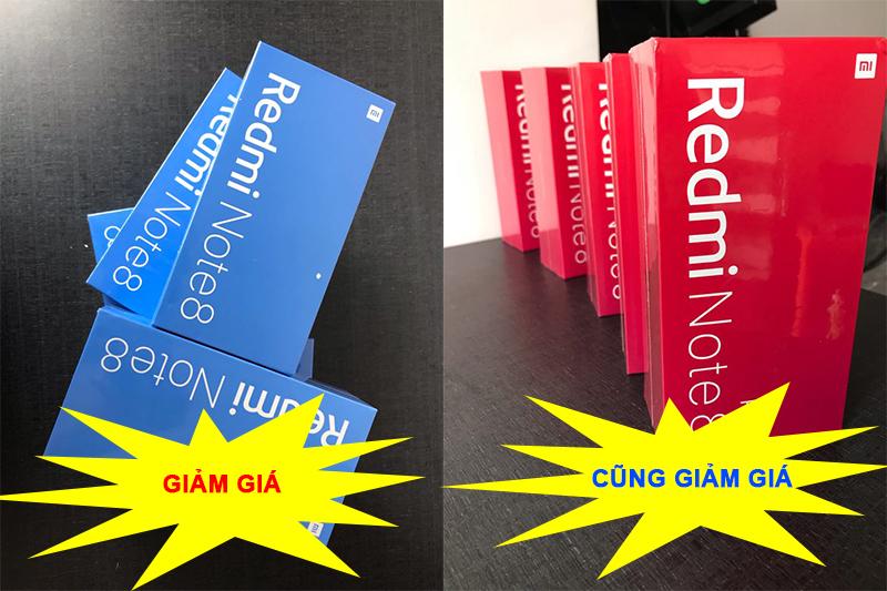 Redmi Note 8/8 Pro tiếp tục giảm giá sâu, máy mới nguyên Seal chỉ còn 3.160.000đ