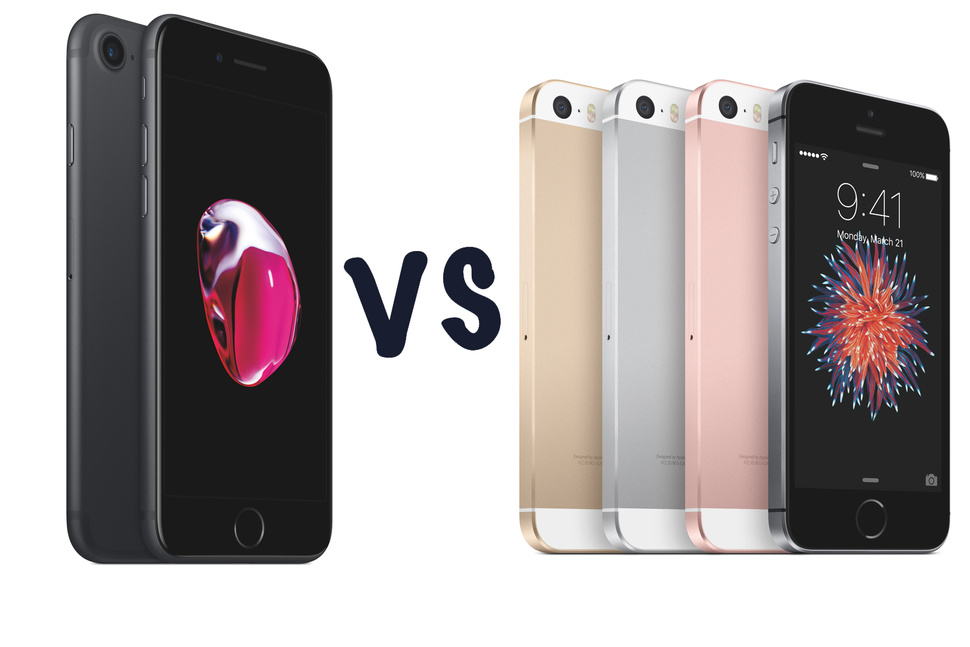 Đây là những lý do iPhone SE đáng mua iPhone 7? Lý do cuối cùng sẽ khiến bạn bất ngờ
