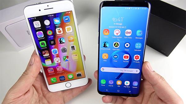Cuộc chiến không hồi kết: Chọn iPhone 8 Plus hay Galaxy S9 Plus