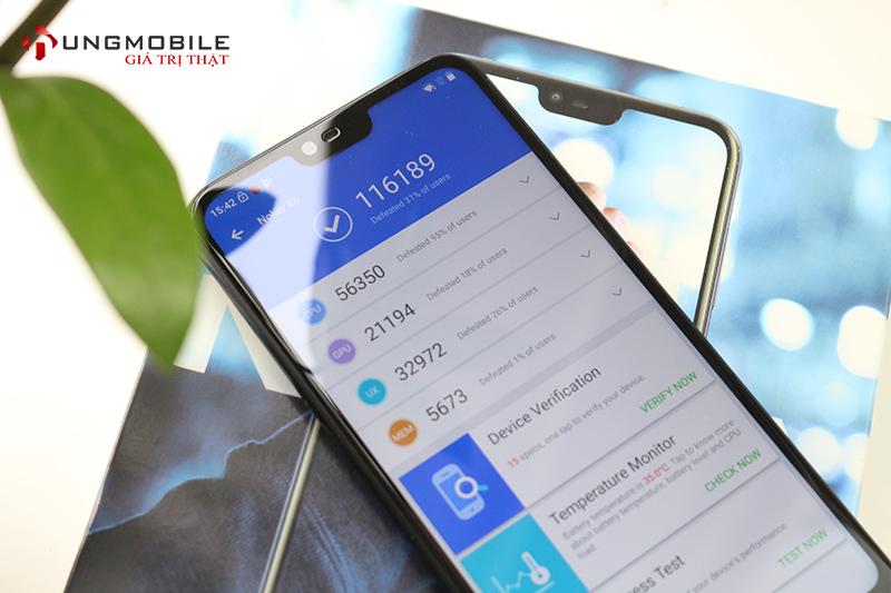 Đánh giá cấu hình Nokia X6