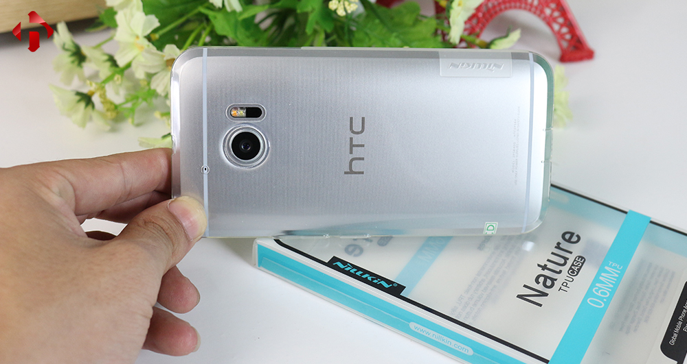 ốp lưng HTC 10 silicon trong suốt NIKIN