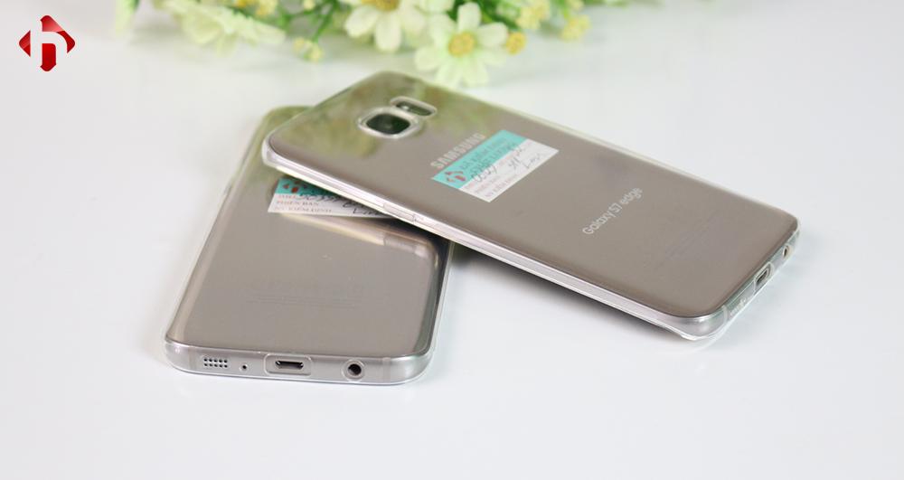 ốp lưng dẻo trong suốt cho Galaxy S7 và S7 edge