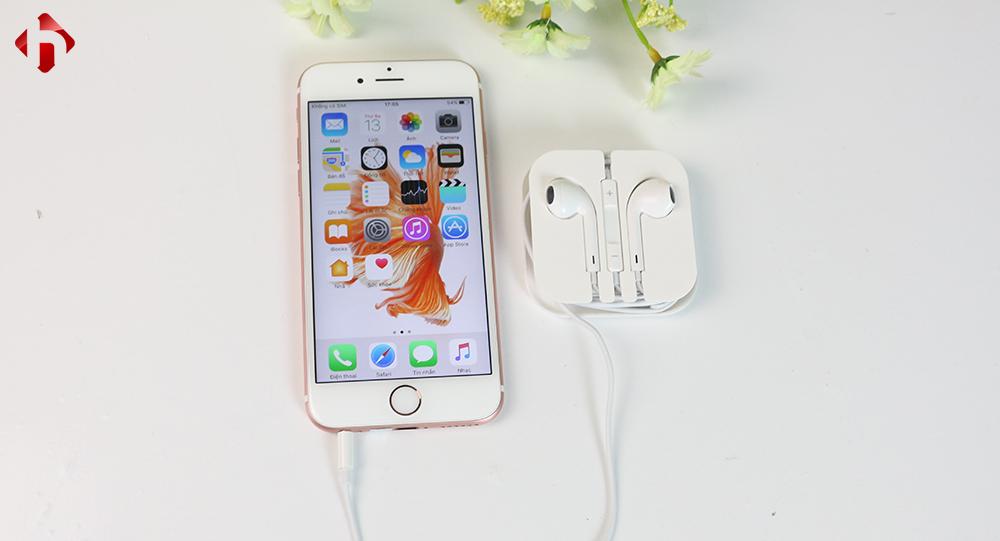 Tai nghe iphone 6s chính hãng zin bóc máy