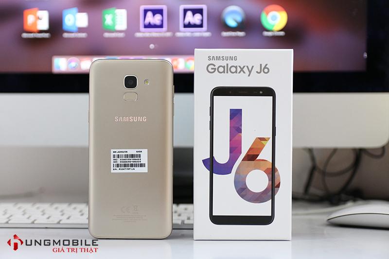 Thiết kế của Galaxy J6 2018