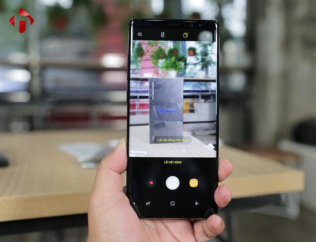 Camera trên Galaxy Note 8 chính hãng