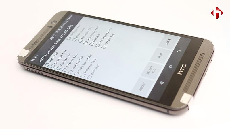 Trình test HTC One M9