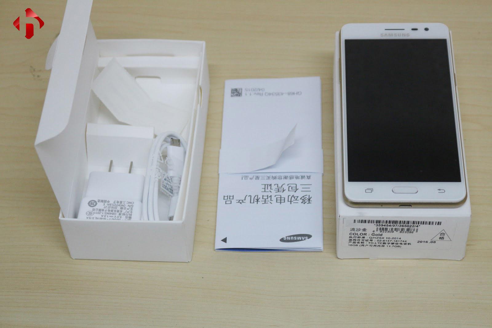 Samsung Galaxy J3 Pro fullbox