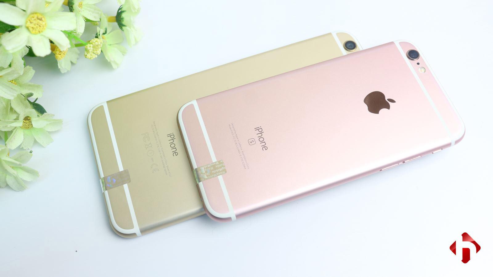 Mặt sau iPhone 6s, 6s Plus