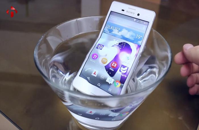 chống nước trên Z5P