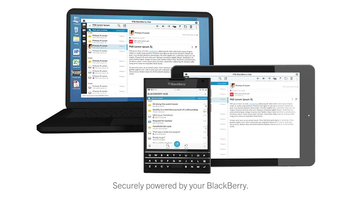 phần mềm blackberry blend