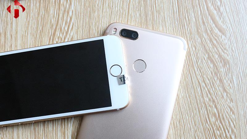 cảm biến vân tay trên xiaomi mi 5x và iphone 6
