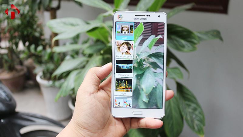 Chất lượng camera trên Samsung Galaxy A7 2015
