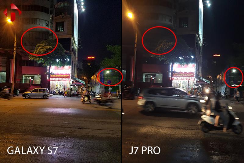 camera chụp đêm trên s7 và j7 pro