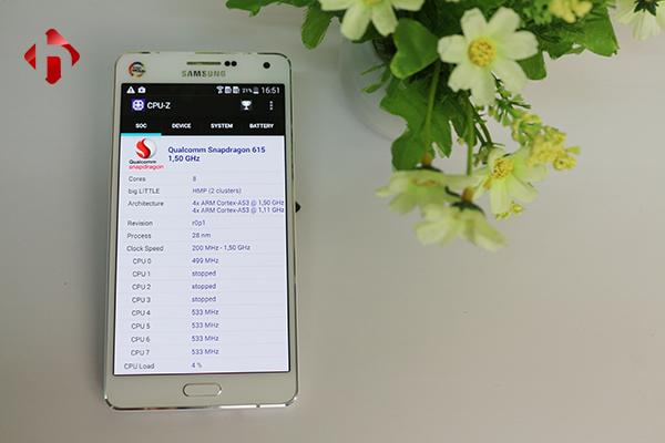 Cấu hình Samsung a7 2015