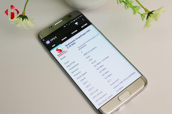 Galaxy S7 Edge sở hữu một cấu hình mạnh