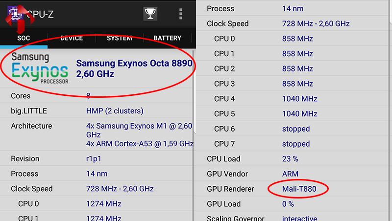 Thông số CPU-Z