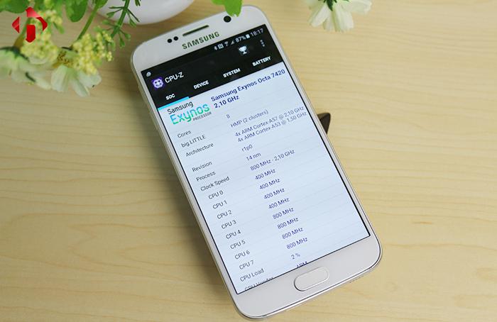 CPU-Z trên Samsung S6