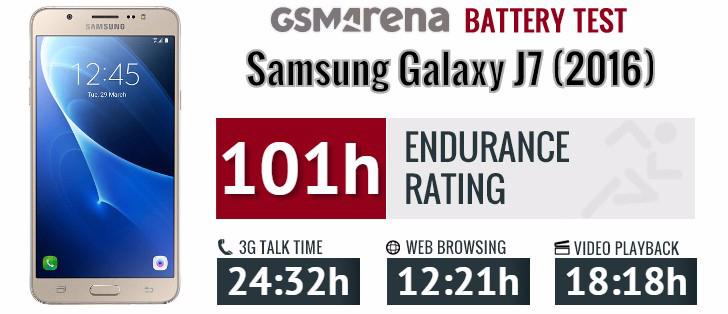 Pin trên Galaxy J7 2016 sử dụng rất tốt