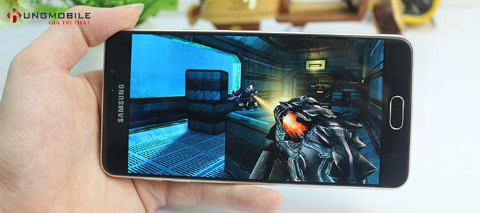 Galaxy A7 2016 trang bị chip Snap 617, ram 3GB mạnh mẽ