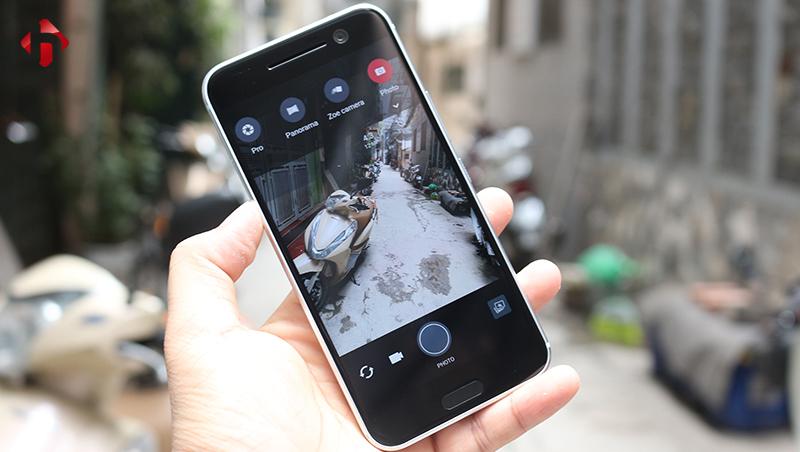 Camera trên HTC 10