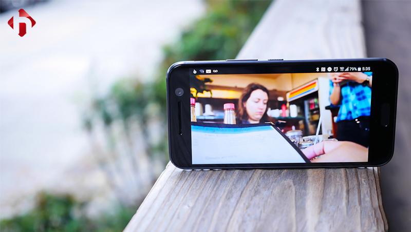 Hiển thị hình ảnh trên HTC 10
