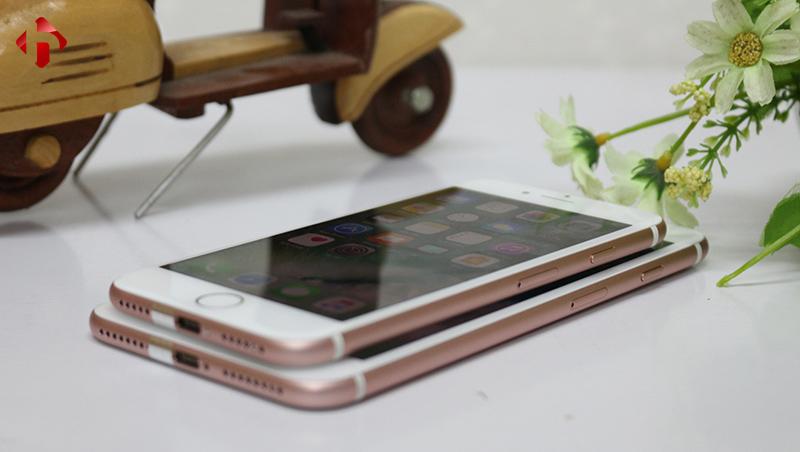 Thiết kế hoàn thiện cao cấp trên iPhone 7, 7 Plus