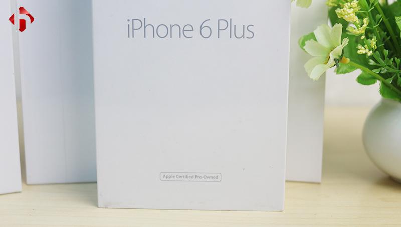 Thông tin mặt trước vỏ hộp iPhone 6 Plus CPO