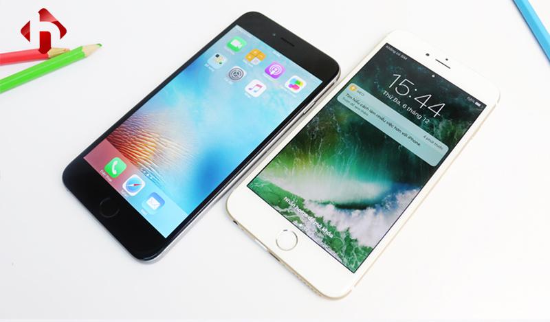 Mặt trước của iPhone 6s, 6s Plus