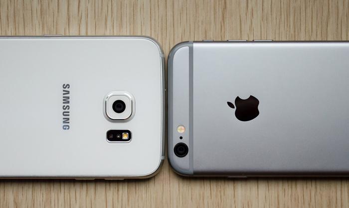 iPhone 6 và samsung s6