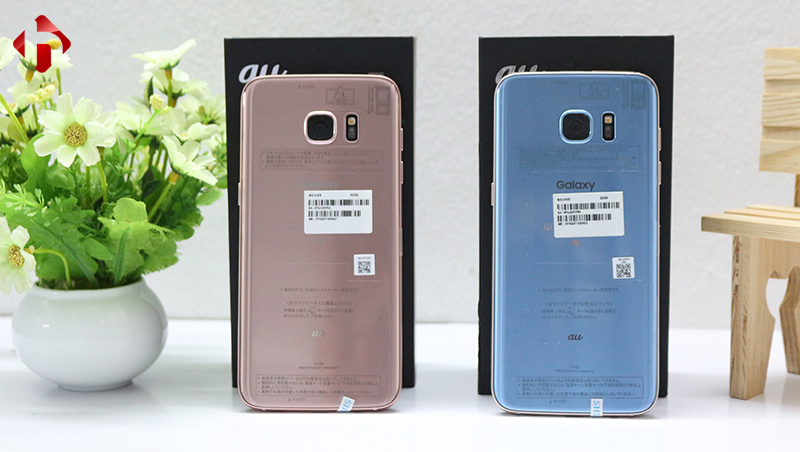 Mặt sau của Galaxy S7 Edge Au SCV33