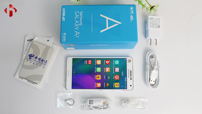 Mở hộp Samsung A7 2015