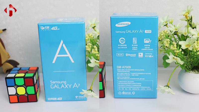 Samsung Galaxy A7 2015 là máy mới 100% nguyên Seal