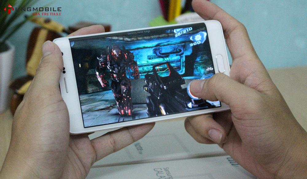 Cấu hình mạnh mẽ được trang bị cho Samsung Note Edge Au