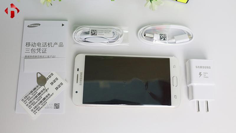 Bộ phụ kiện chuẩn đi kèm Samsung Galaxy On7 2016
