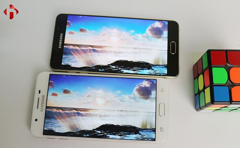 Chất lượng hình ảnh trên Samsung Galaxy A7 2016 và On7 2015
