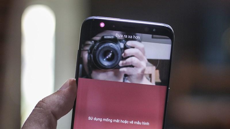 Bảo mật trên Galaxy S8