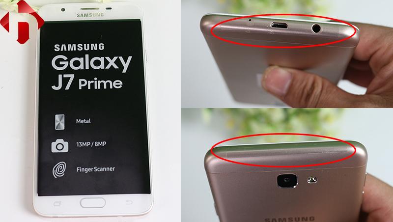 Seal máy trên Samsung J7 prime chính hãng